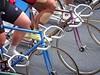 So much fixed gear bike porn on display at Nara Keirin today. #cycling #cycle #cyclelife #bike #bikelife #bicycle #cyclesport #trackcycling #keirin #narakeirin #sport #sportsphotography #fixedgear #fixedgearbike #njs #jka #velo #velodrome #Nara #Japan