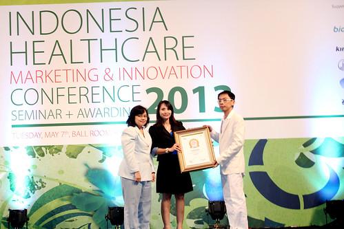 Indonesia Health Care Marketing & Innovation Conference 2013 – Jakarta Eye Center.