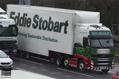 Volvo FH 6x2 Tractor - PX60 CKN - Leanne Christina - Eddie Stobart - M1 J10 Luton - Steven Gray - IMG_7910
