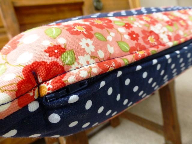 Wonky Star Cushion Class Sample