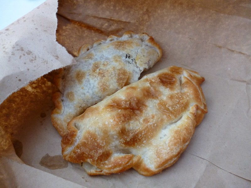 Mouth watering empanada