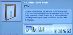 Glass Double Doors