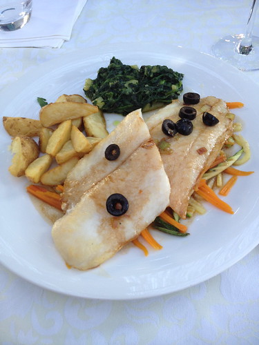 Fish filet at Restaurant Ivo, Makarska
