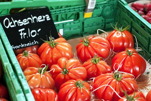 tomatoes @ hauptbahnhof market