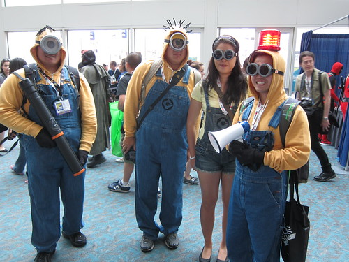 SDCC 2013 - Cosplay - Minions - Friday