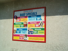 Tastee Freeze Daily Specials Ill Be Here On Tuesday And Flickr