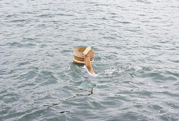 日本海女表演13