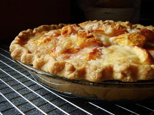Peach & Creme Fraiche Pie