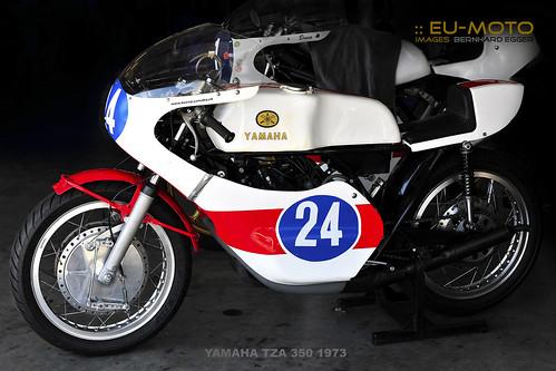 YAMAHA TZA 350 1973 at Int. Rupert Hollaus Gedächtnis-Rennen IGFC Austria ☆☆☆ Copyright © 2013 Bernhard Egger :: eu-moto images™ # 6533