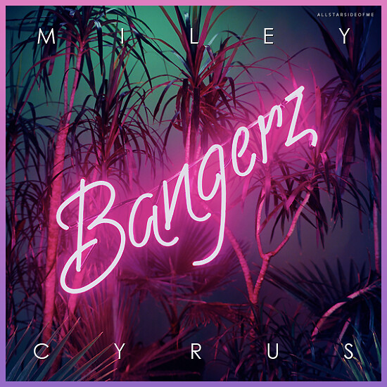 Miley Cyrus - Bangerz (Album Cover)