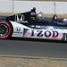 Mario Andretti drives the 2-seater during the parade laps of the GoPro Grand Prix of Sonoma