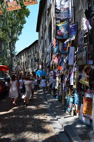 Avignon during the festival