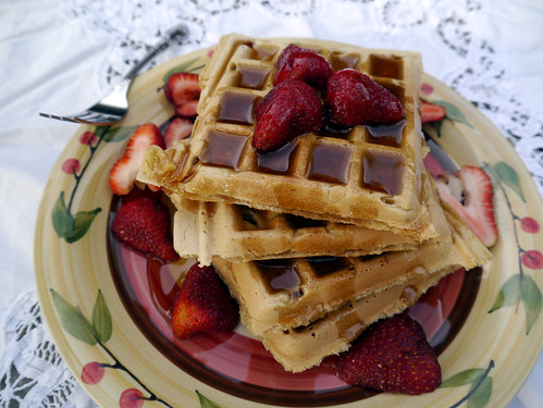 O is for Old-Fashioned Chelsea Waffles [Vegan Brunch] (0008)