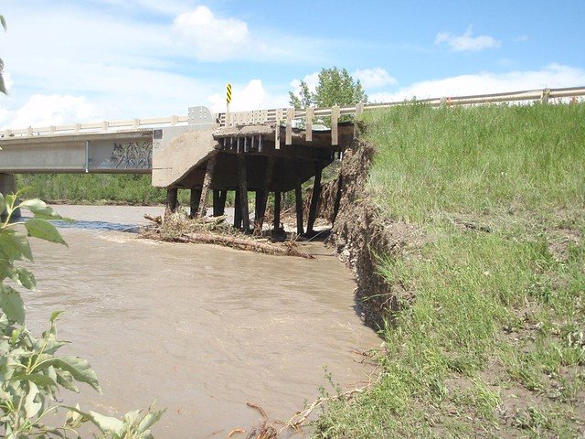 Garrington Bridge in Red Deer County