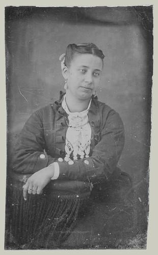 Tintype woman