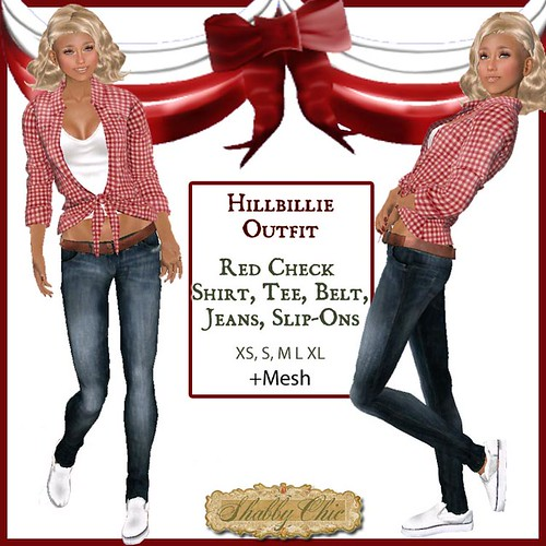 Shabby Chic Hillbillie Outfit by Shabby Chics