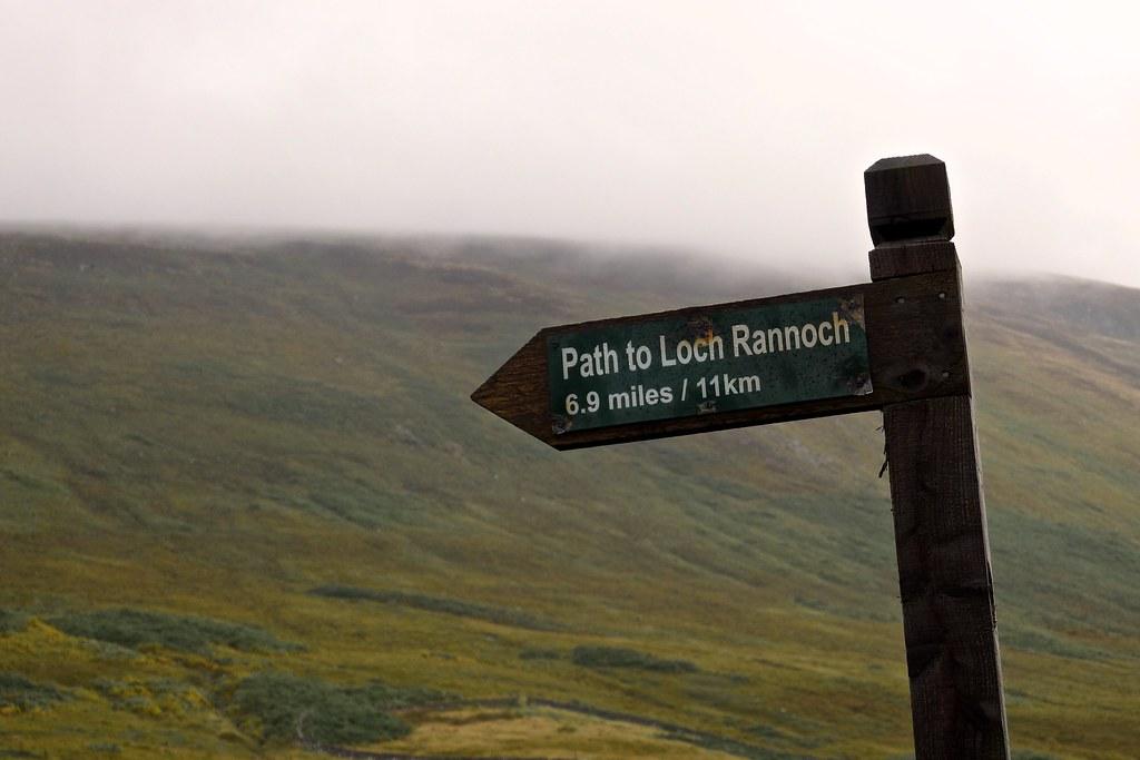 Kirk Road to Loch Rannoch