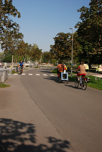 Cycle path in Lochau