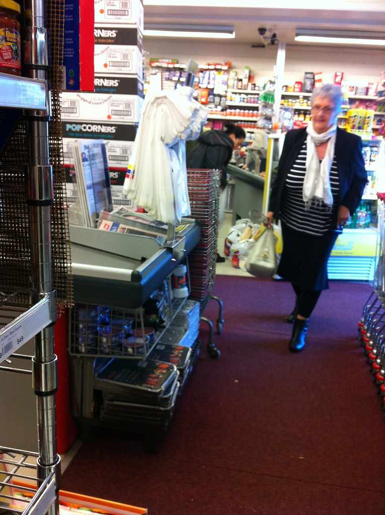 bjork in the local supermarket 2 magic surprise