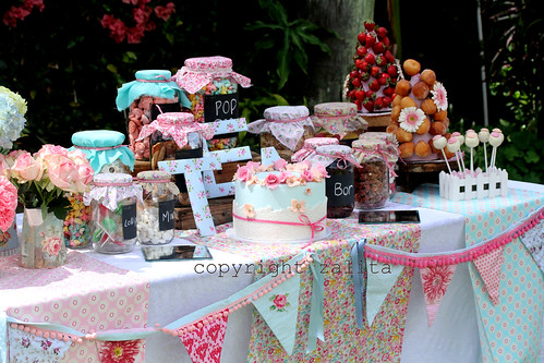 bohemian style candy bar by {zalita}