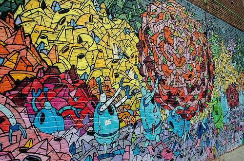 Street Art, Williamsburg, Brooklyn, New York