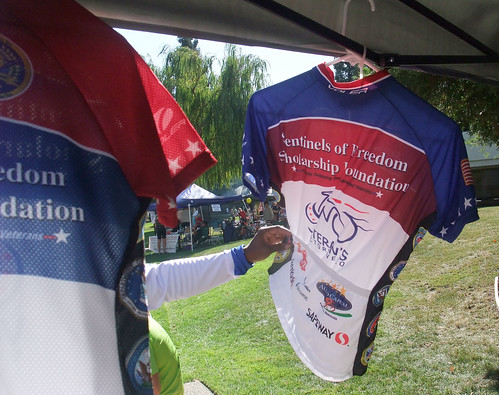 Jersey Vetern's Victory Velo ride