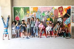 Fotos revelam atuação criativa e lúdica de crianças na produção de filmes