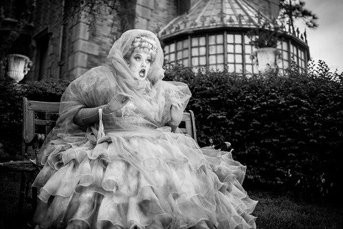 Magic Kingdom - Lady on the Lawn