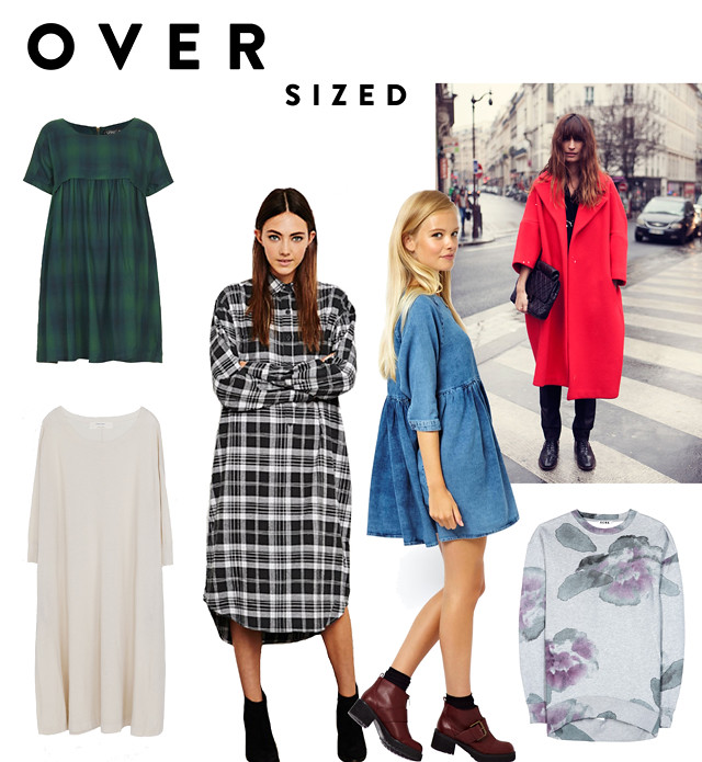 top smock dresses and oversized coats