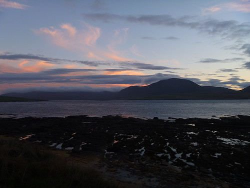 Sunset over Hoy