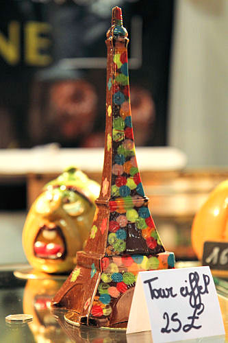 chocolate Eiffel Tower IMG_9746