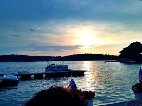 new sunset lake water sunrise river boats boat kayak lakes nj canoe rivers jersey toms
