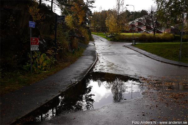 översvämning göteborg 2014