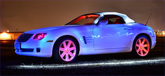 Chrysler Crossfire Roadster with Light Painting