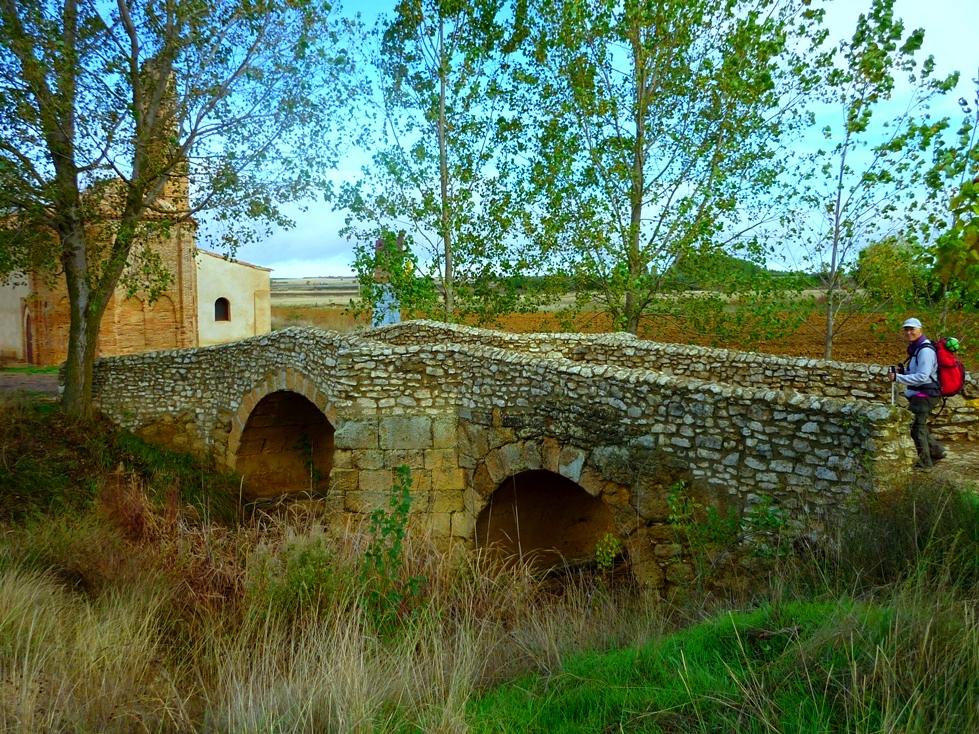 1. Puente cerca de Sahagún. León. Autor, Calafellvalo