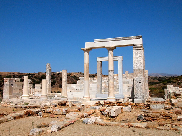 Temple of Dimitra, Naxos