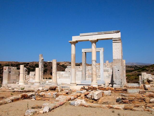 Temple of Dimitra, Naxos