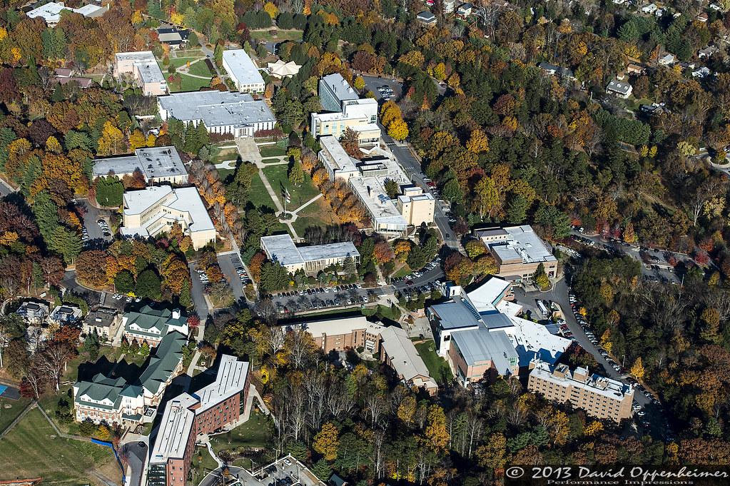 UNC Asheville - UNCA Aerial Photo | UNC Asheville campus - U… | Flickr