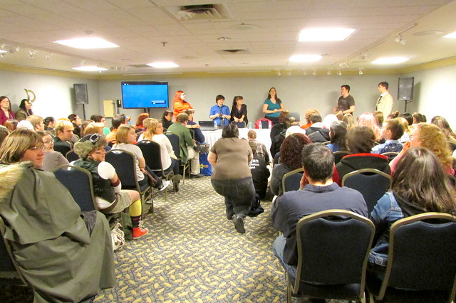 Supernatural Discussion Group at Hal-Con 2013