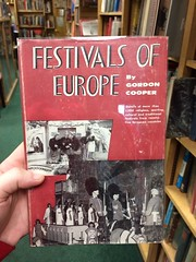 """Festivals of Europe"", typeset in Festival"