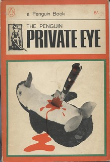 The Penguin Private Eye - cover photograph by Lewis Morley