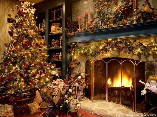 Pics-Of-Xmas-Trees-How-to-Decorate-Christmas-Tree-with-classic-design