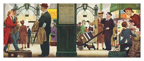 1951 illustration by Charles 'Clixby' Watson