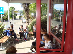 Outside Akaroa Library