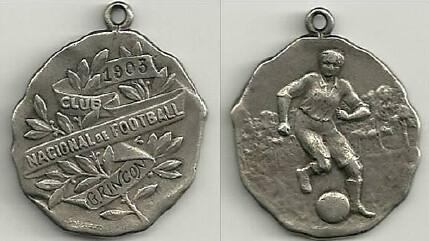1903 Football medal