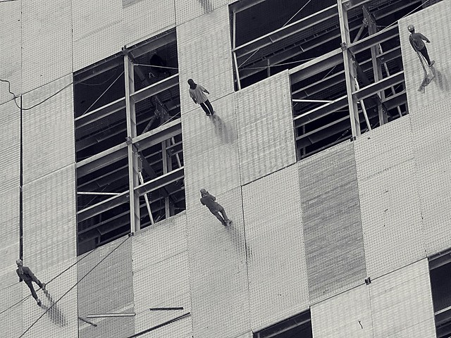 Constructing carpark. Photographed by Bernard Eirrol Tugade