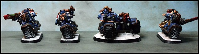 Space Wolf Swiftclaws
