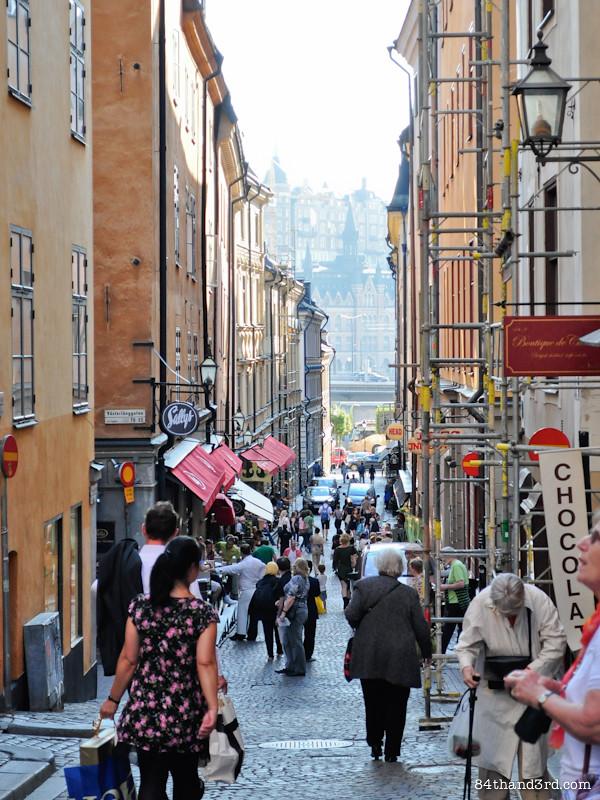 Gamal Stan, Stockholm