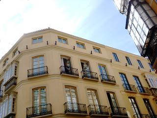 Malagas Altstadt im Victoria-Viertel