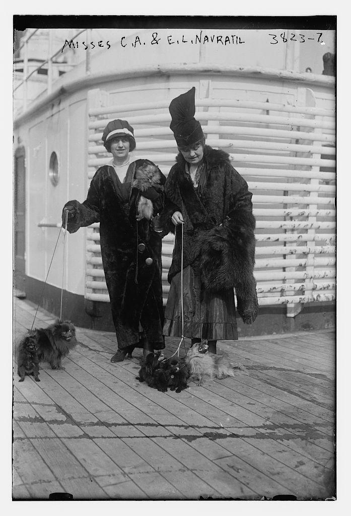Misses C.A. & E.L. Navratil (LOC)